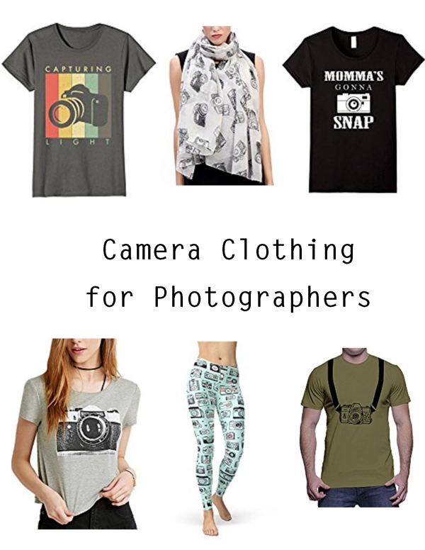 Camera Clothing for Photographers