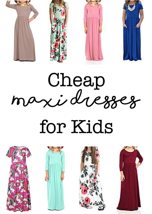Girls Maxi Dresses