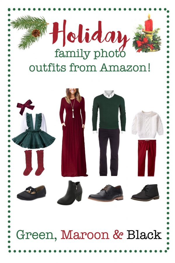 Holiday/Winter Family Photo Outfits from Amazon!