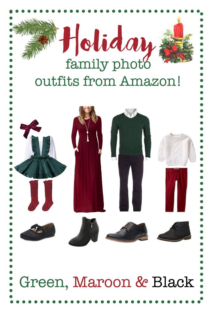 Holiday Winter Family Photo Outfits From Amazon Affordable Photography Props