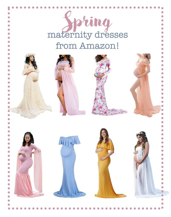 Spring Maternity Dresses from Amazon