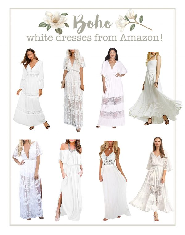 Boho Dresses from Amazon!