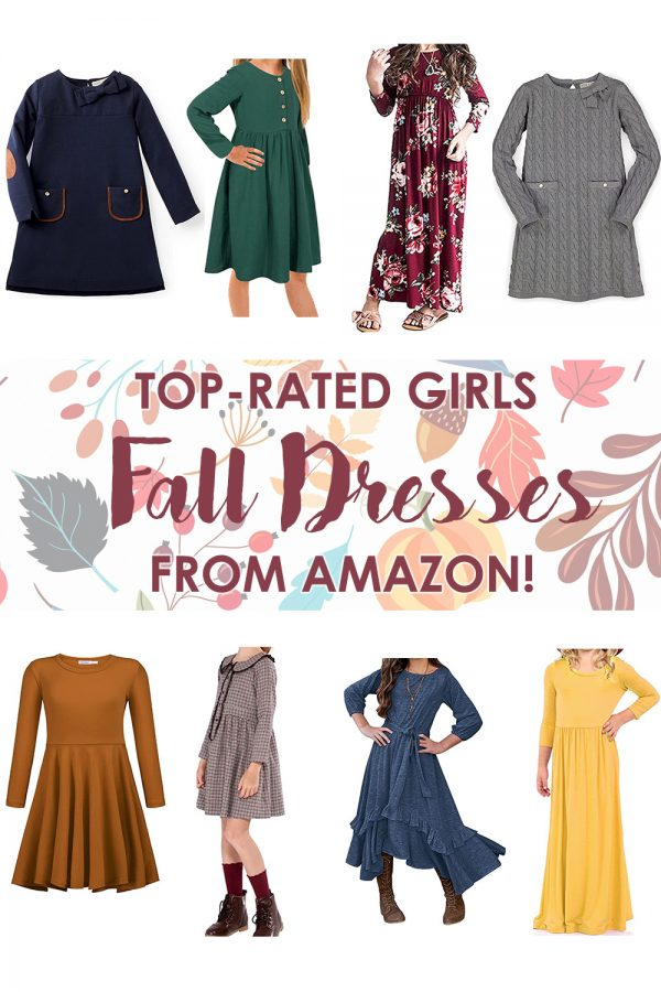 Girls Fall Dresses from Amazon!